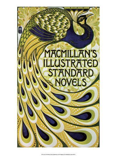 Vintage Poster Advertising Macmillan's Novels--Art Print