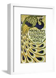 Vintage Poster Advertising Macmillan's Novels