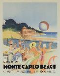 Florida Go by Train-Vintage Poster-Framed Art Print