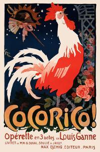 Cocorico! by Vintage Posters
