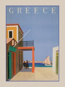 Greece II by Vintage Posters