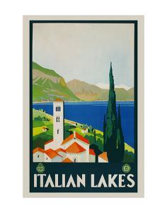 Italian Lakes by Vintage Posters