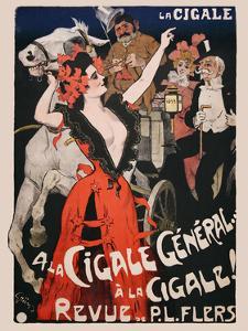 La Cigale by Vintage Posters