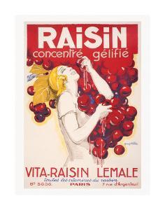 Raisin Concentre gelifie by Vintage Posters