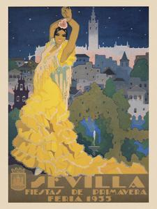 Sevilla by Vintage Posters
