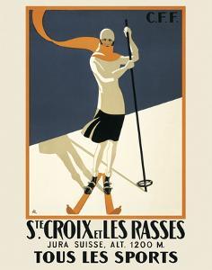 Ste. Croix by Vintage Posters