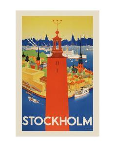 Stockholm by Vintage Posters
