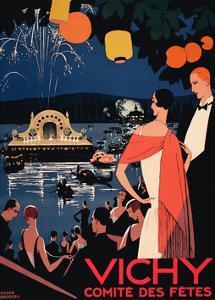 Vichy Comite des Fetes by Vintage Posters