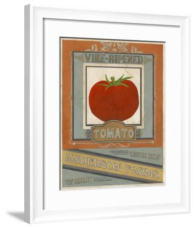 Vintage Produce Sign I-June Vess-Framed Art Print