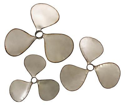 Vintage Propeller Wall Decor Set