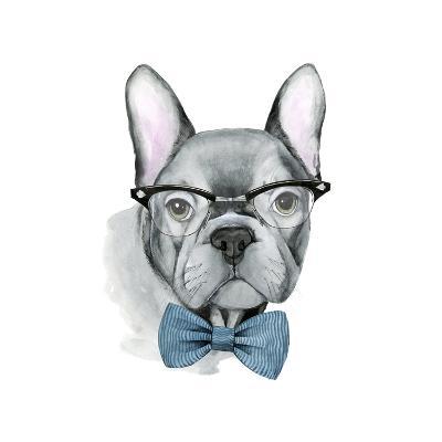 Vintage Pup IV-Grace Popp-Art Print