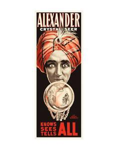 Alexander, Crystal Seer Knows, Sees, Tells All by Vintage Reproduction