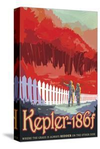 Kepler-186f by Vintage Reproduction