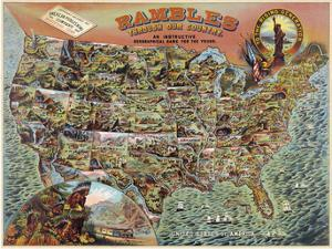 Rambles through our Country by Vintage Reproduction