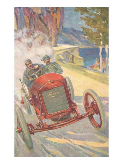Vintage Road Racing--Art Print