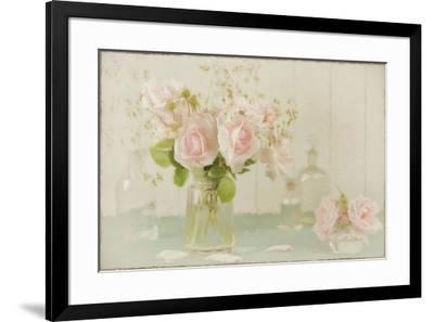 Vintage Roses Still Life-Cora Niele-Framed Giclee Print