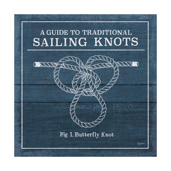 Vintage Sailing Knots II-Mary Urban-Art Print