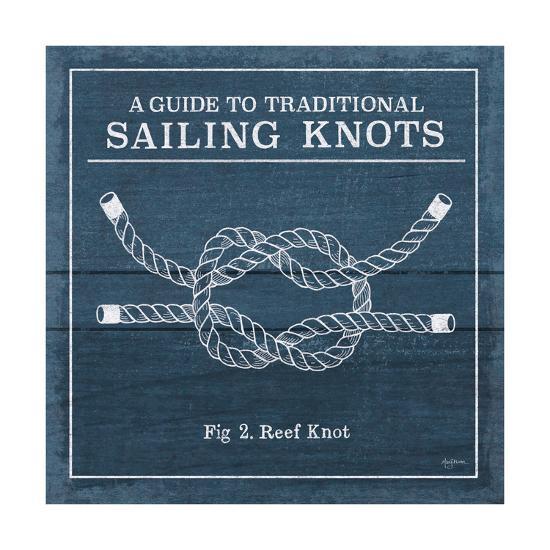 Vintage Sailing Knots III-Mary Urban-Art Print