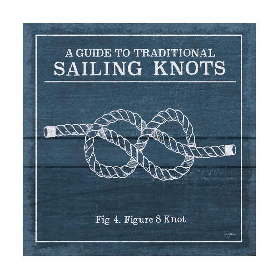 Vintage Sailing Knots IV-Mary Urban-Art Print