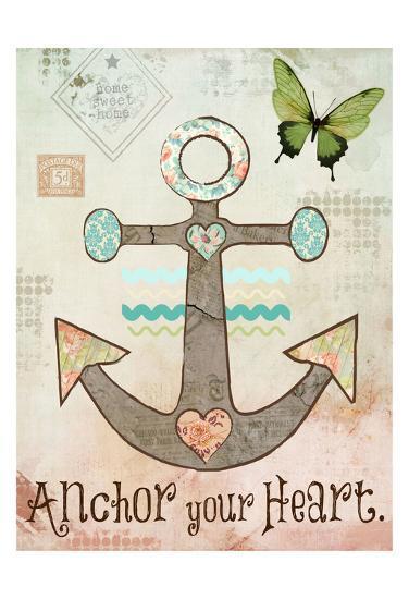 Vintage Sea 3-Melody Hogan-Art Print