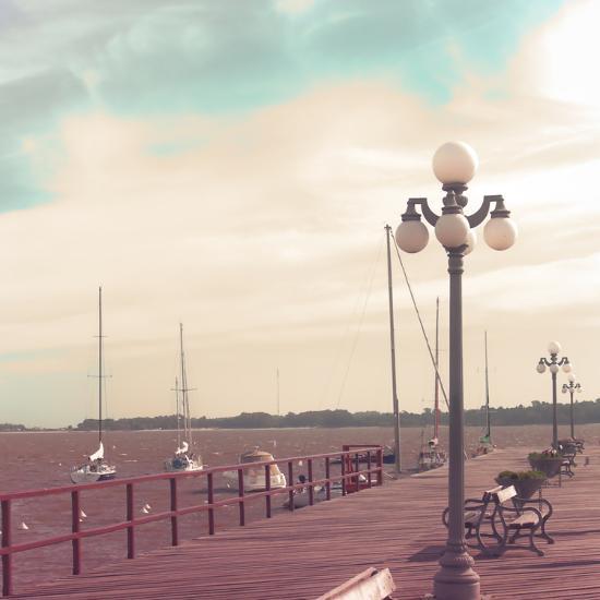 Vintage Sea Port-Andrekart Photography-Photographic Print