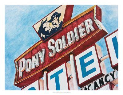 Vintage Signs II-Redstreake-Art Print