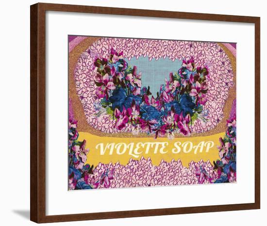 Vintage Soap II-The Vintage Collection-Framed Giclee Print