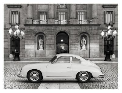 Vintage sports-car 2-Gasoline Images-Art Print