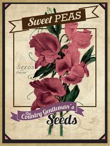 Vintage Sweet Peas Packet