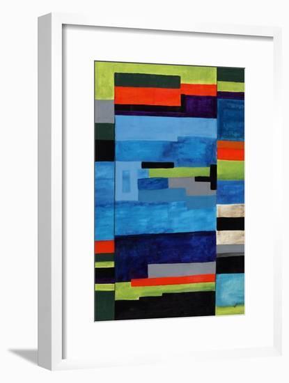 Vintage Tetris-Brent Abe-Framed Giclee Print