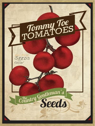 Vintage Tommy Tomato Seed Packet--Giclee Print