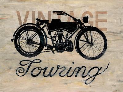 Vintage Touring Bike-Arnie Fisk-Premium Giclee Print