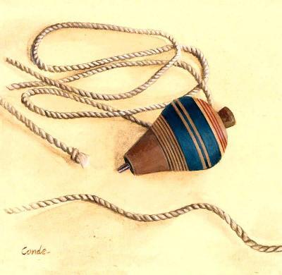 Vintage Toys II-Conde-Art Print