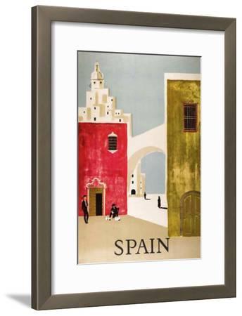 Vintage Travel to Spain