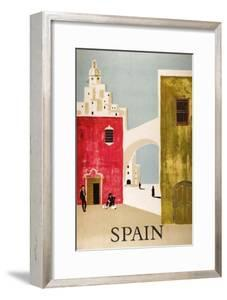 Vintage Travel to Spain