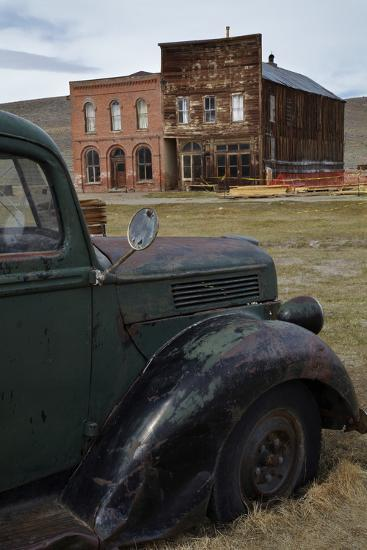 Vintage Truck, Bodie Ghost Town, Bodie Hills, Mono County, California-David Wall-Photographic Print