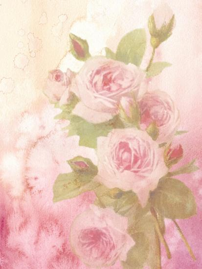 Vintage Valentine Rose-Wonderful Dream-Art Print
