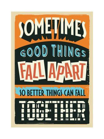 Better Things Can Fall Together