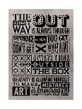 Outside the Box-Vintage Vector Studio-Art Print