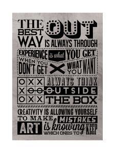 Creativity Set Grey by Vintage Vector Studio