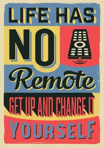 Get Up and Change Yourself by Vintage Vector Studio