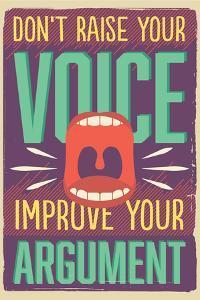 Improve Your Argument by Vintage Vector Studio