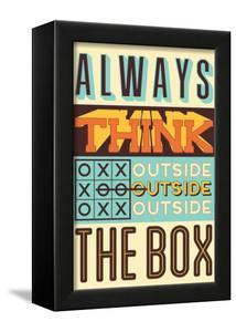 Outside the Box by Vintage Vector Studio