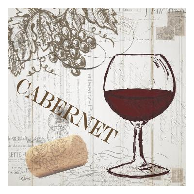 Vintage Wine 2-Carole Stevens-Art Print
