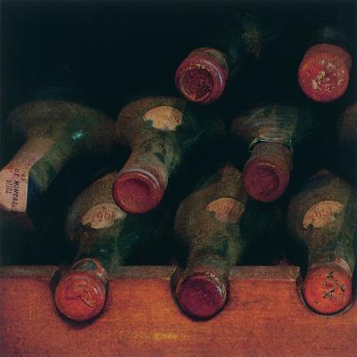 Vintage Wine Cellar I-Amy Melious-Premium Giclee Print