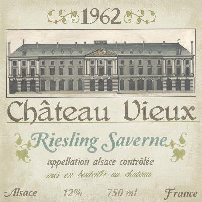 Vintage Wine Labels VII-Erica J^ Vess-Art Print