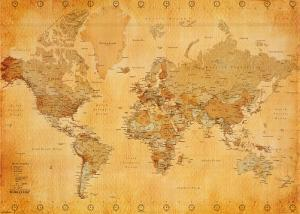 Antique maps posters and prints at art vintage world map gumiabroncs Gallery