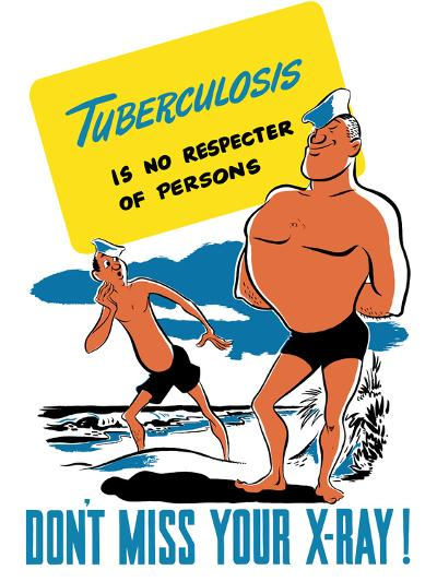 Vintage World War II Poster of Two Sailors On the Beach, One Muscular, One Skinny-Stocktrek Images-Photographic Print