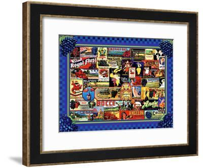 Vinyard Labels-Kate Ward Thacker-Framed Giclee Print