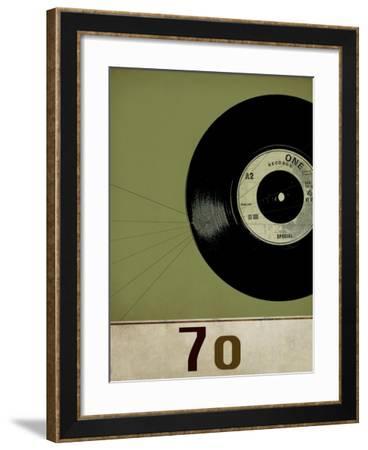 Vinyl 70-Sidney Paul & Co.-Framed Giclee Print